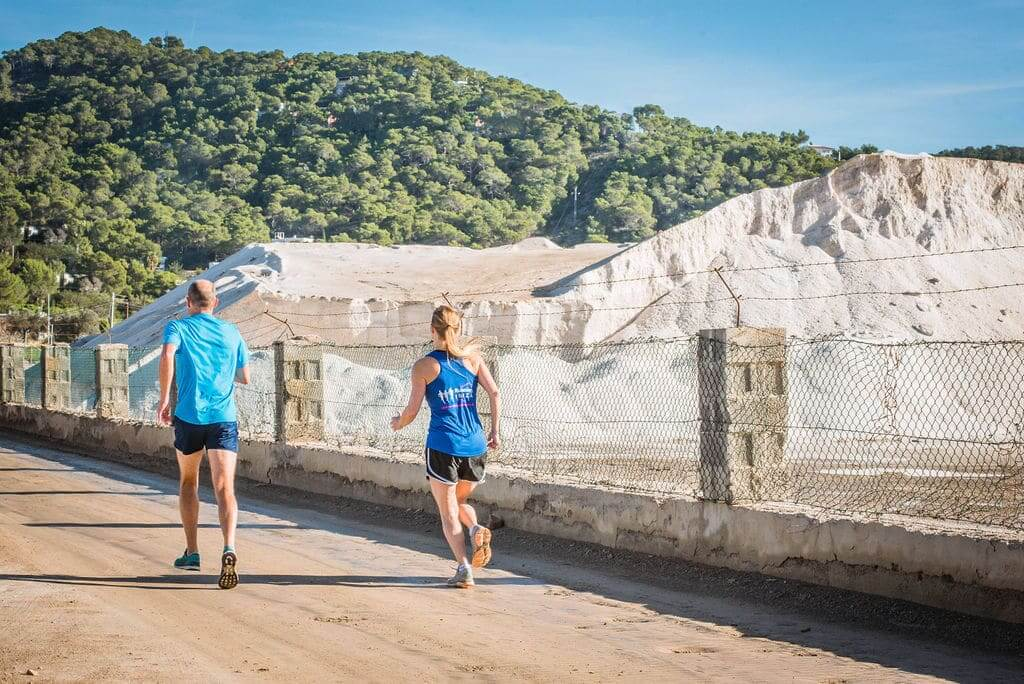 Trail Running, Salinas Salt Lakes, Ibiza